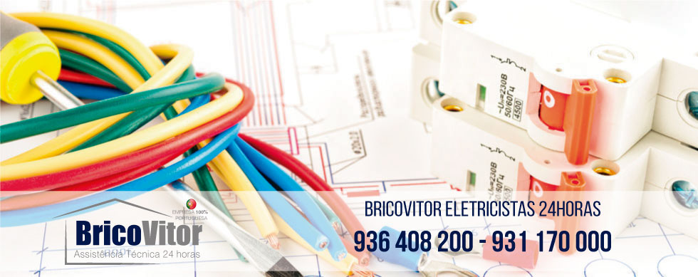 Manutenção sistemas elétricos - Instalações elétricas - Eletricista Amares 24Horas